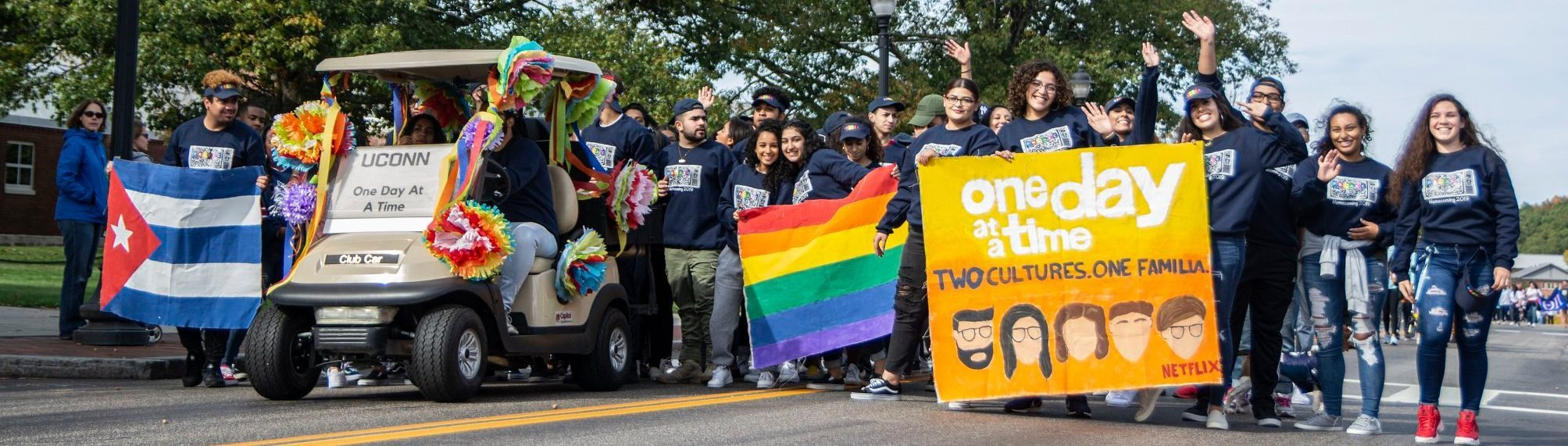 2019 UConn Homecoming Parade, Puerto Rican and Latin American Center